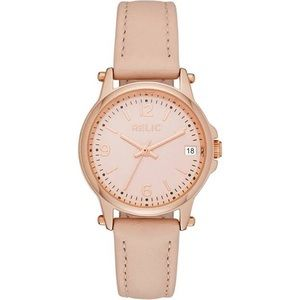 NWT Relic by Fossil Women's Matilda Leather Watch